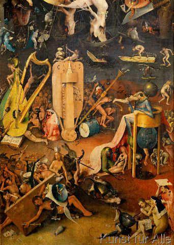 Hieronymus Bosch Bosch Garten Der Luste Rechter Flugel 56 0 X