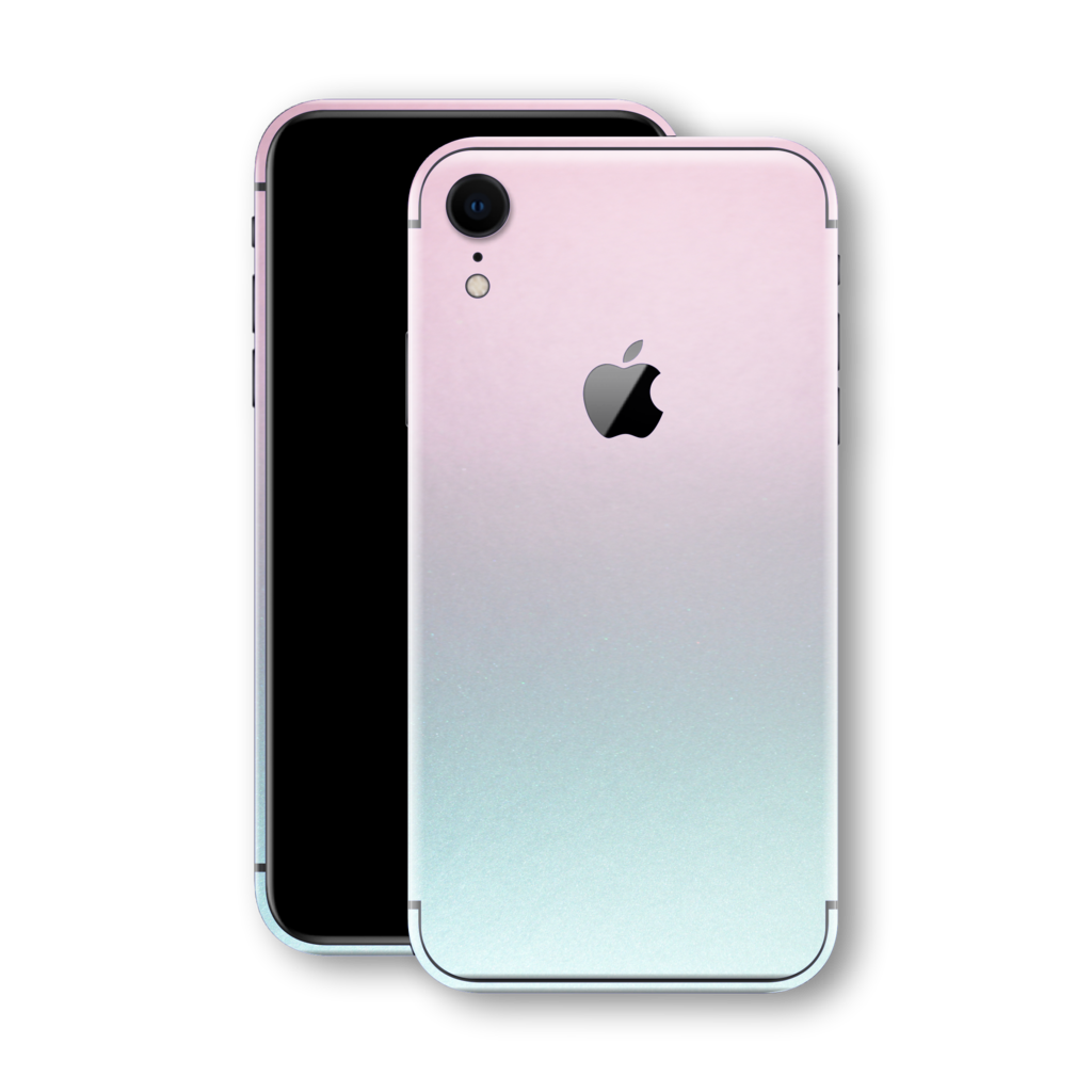 iPhone XR CHAMELEON AMETHYST MATT Metallic Skin