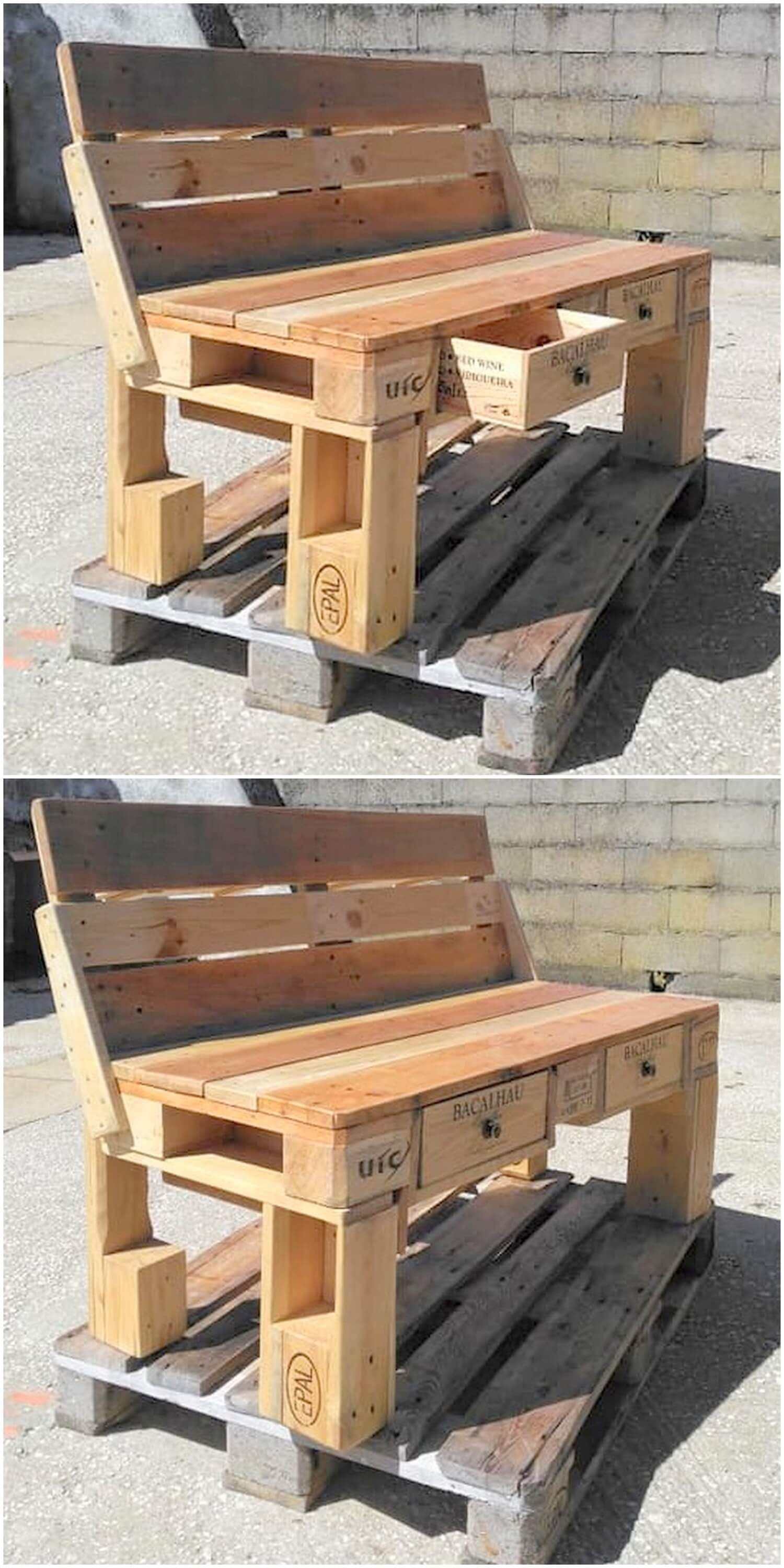Adorable Diy Ideas For Shipping Pallets Reusing Pallet Diy Wood