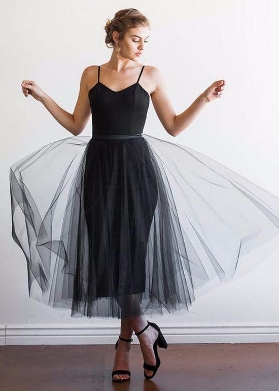 c5d8203dc Vestido Preto: peça coringa | Moda, estilo e looks | Vestido de tule ...
