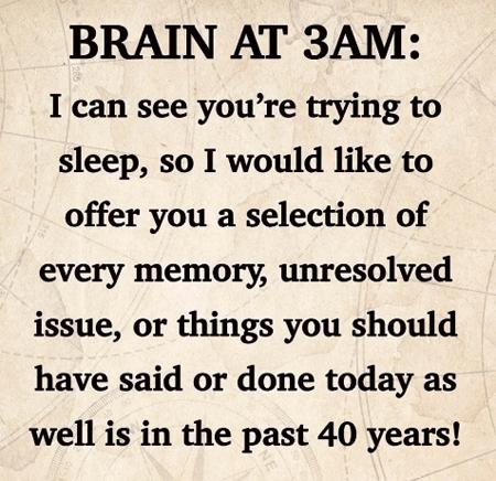 The 3AM Brain