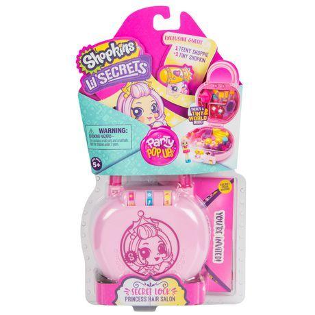 Shopkins Lil Secrets Mini Playset Party Pop Ups Series 2 Shopkins Party Pops Playset
