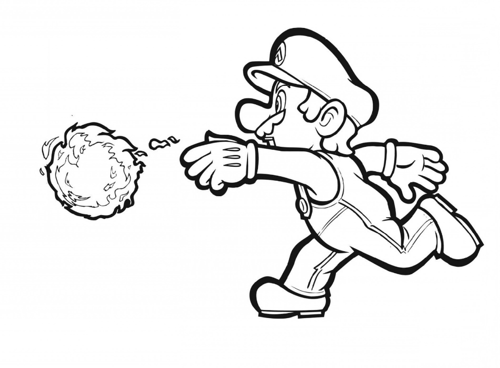 Super Mario Coloring Pages (With images) | Mario coloring ...