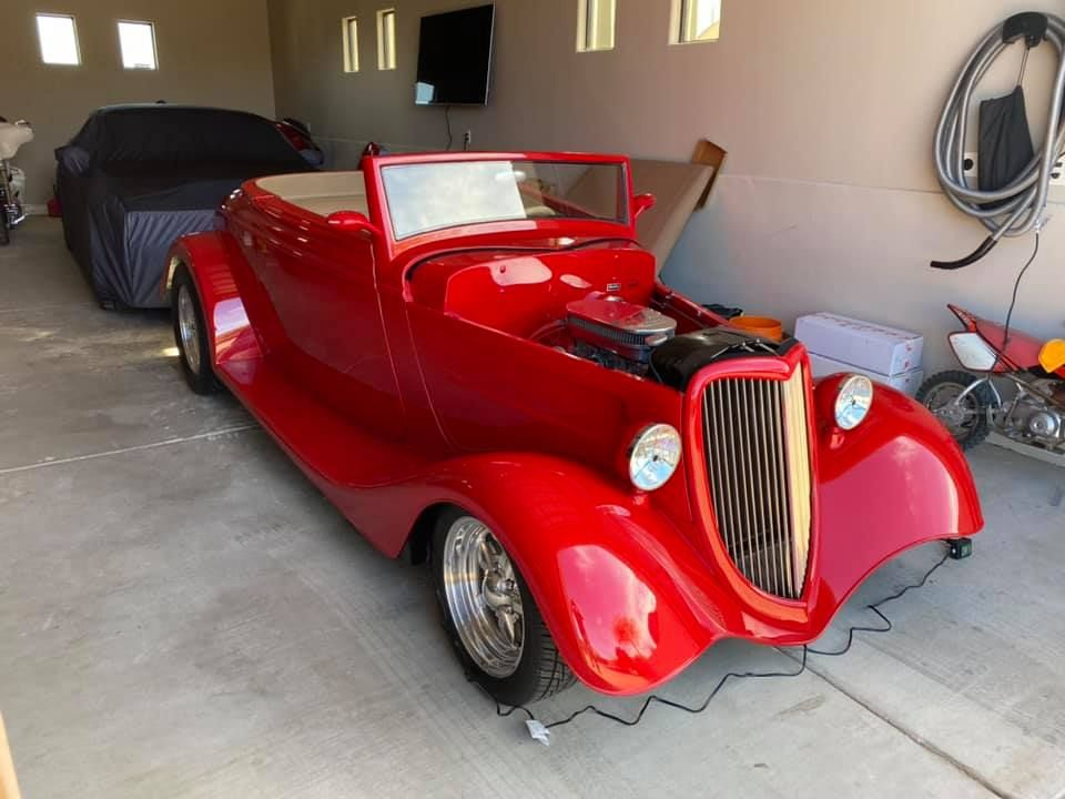 1934 ford custom convertible 49999 in 2020 with