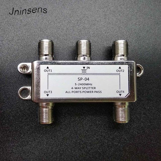 52400MHz 4way splitter / 4channel satellite signal