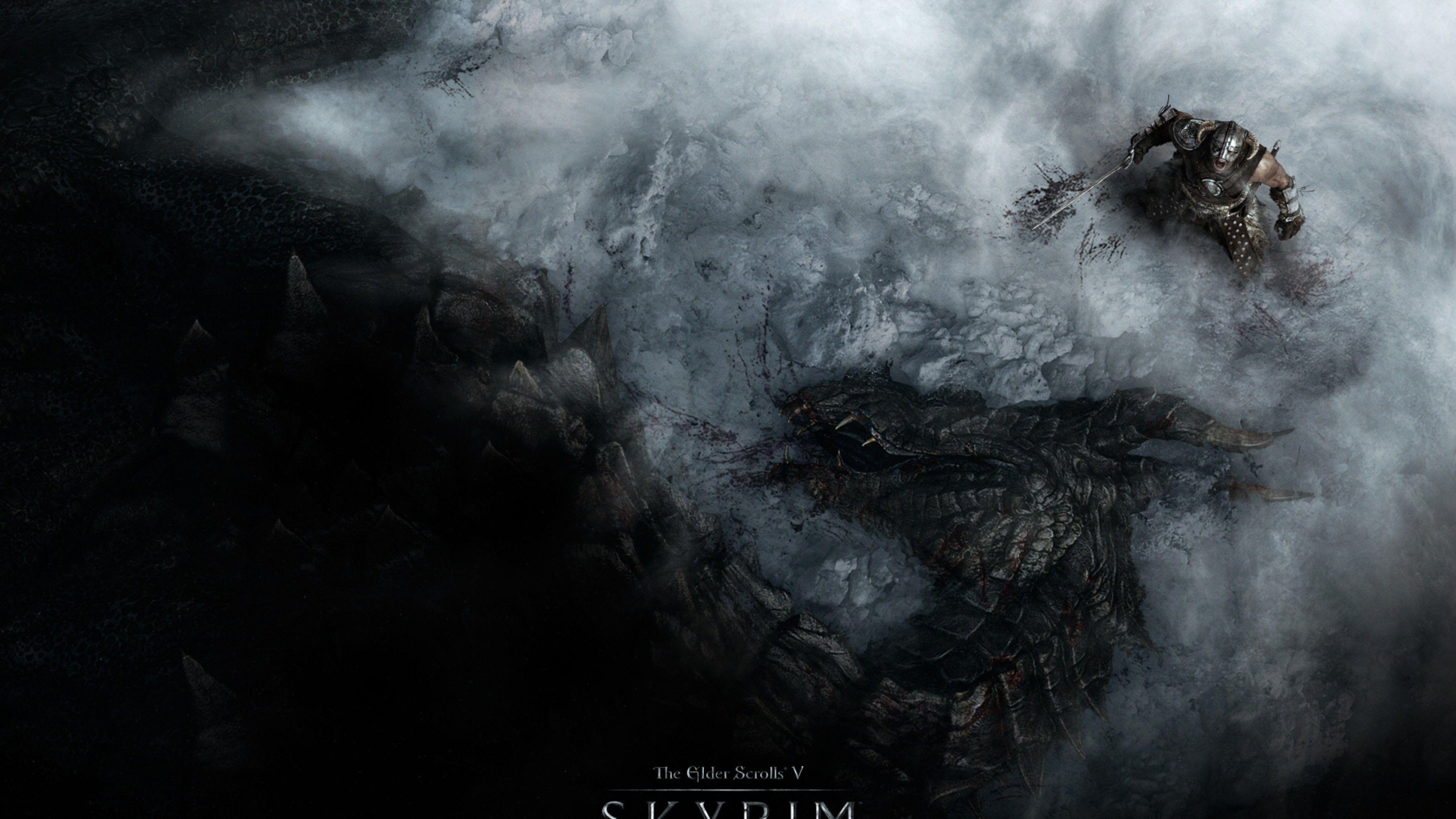 Res 3840x2160 Herunterladen Skyrim Wallpaper Skyrim Elder Scrolls Skyrim
