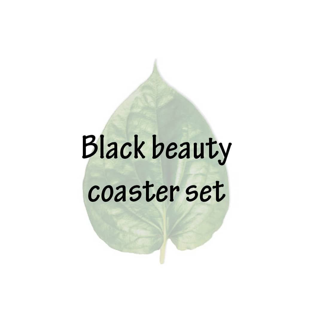 It S The Shop O Clock Somewhere So Shop Online For Teakwood Hand Painted Designer Coasters On Www Littley In Coaster Design Insta Fashion Black Beauties