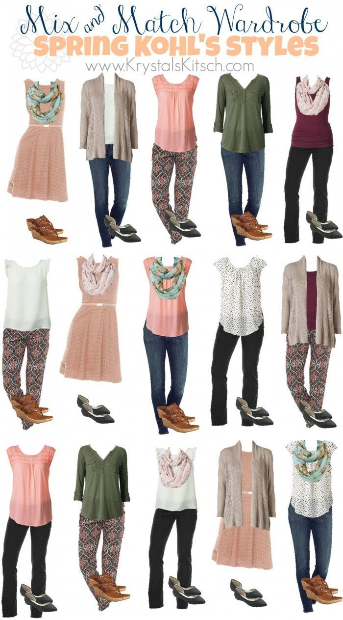 Clothing. Spring and Summer Fashion Ideas at Kohls   Pretty pastel  Pastels