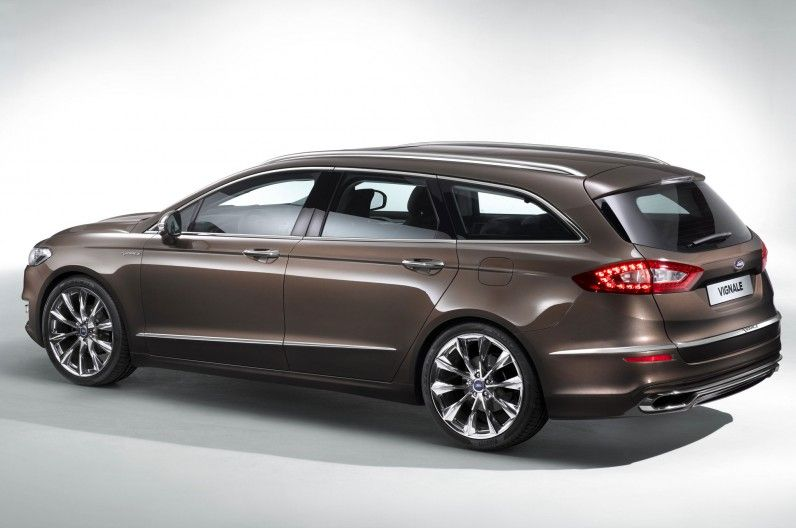 Ford Mondeo Vignale Concept Dresses Up European Spec Fusion Ford