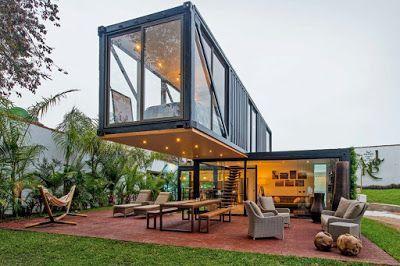 Casas construidas con contenedores mar timos pachacamac for Arquitectura contenedores maritimos