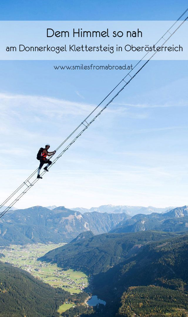 Photo of The Donnerkogel via ferrata in Upper Austria – smilesfromabroad