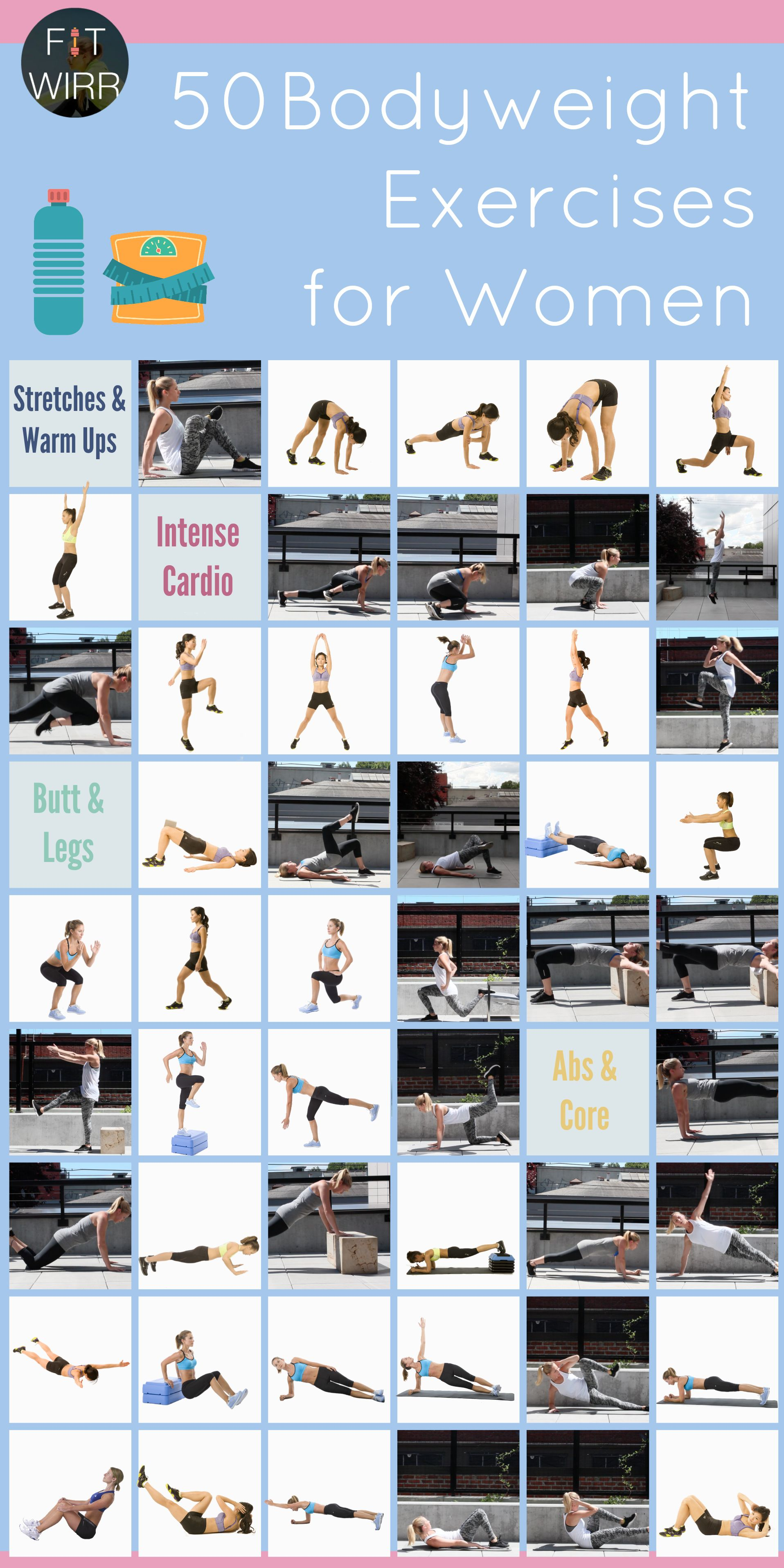 Best Bodyweight Exercises You Can Do Anywhere to Get Fit Get