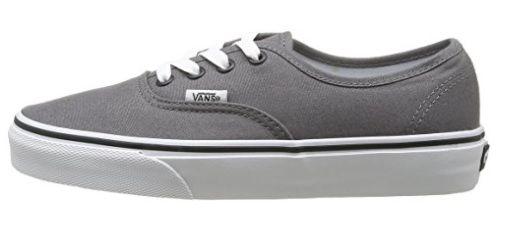 zapatillas vans authentic grises