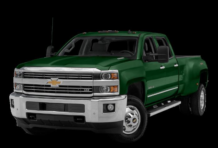 2017 Chevrolet Silverado Colors