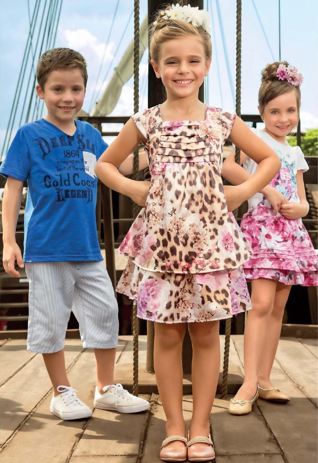 Coleção Primavera Verão 2014 - Boca Grande Moda Infantil