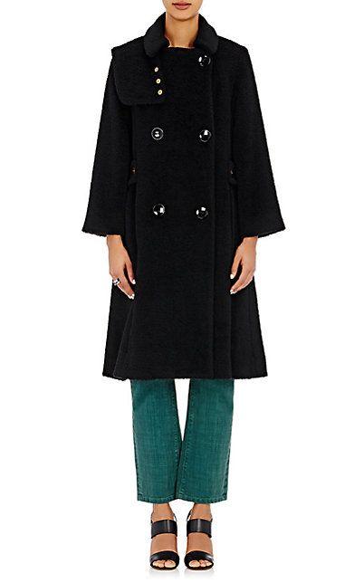 MAISON MAYLE plush trench coat
