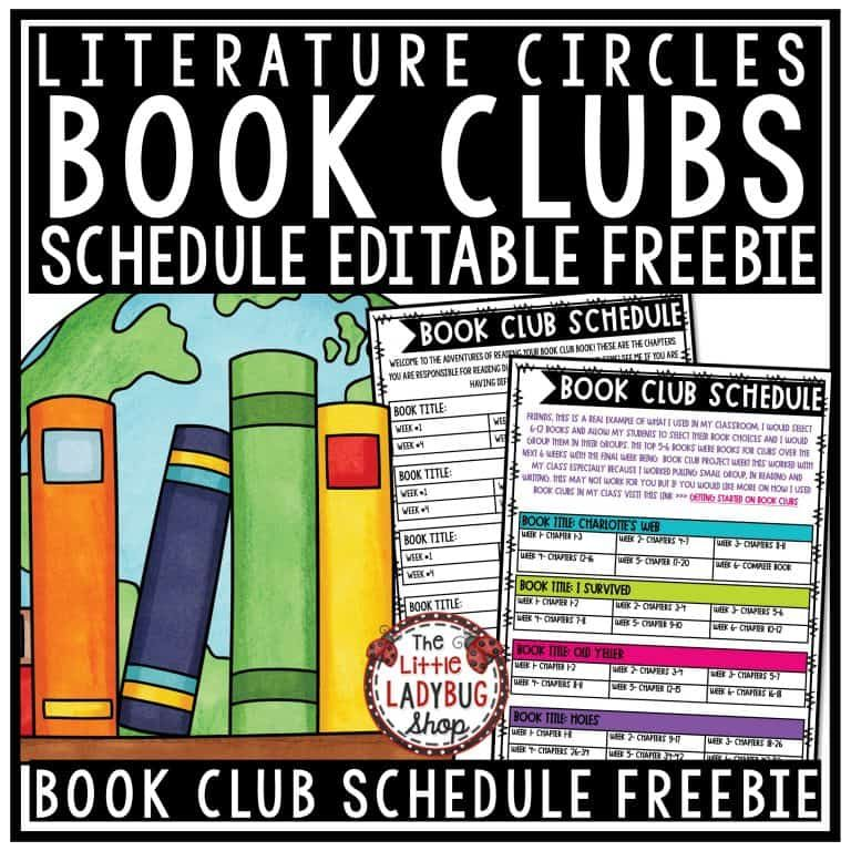 Photo of Books Clubs in Upper Elementary