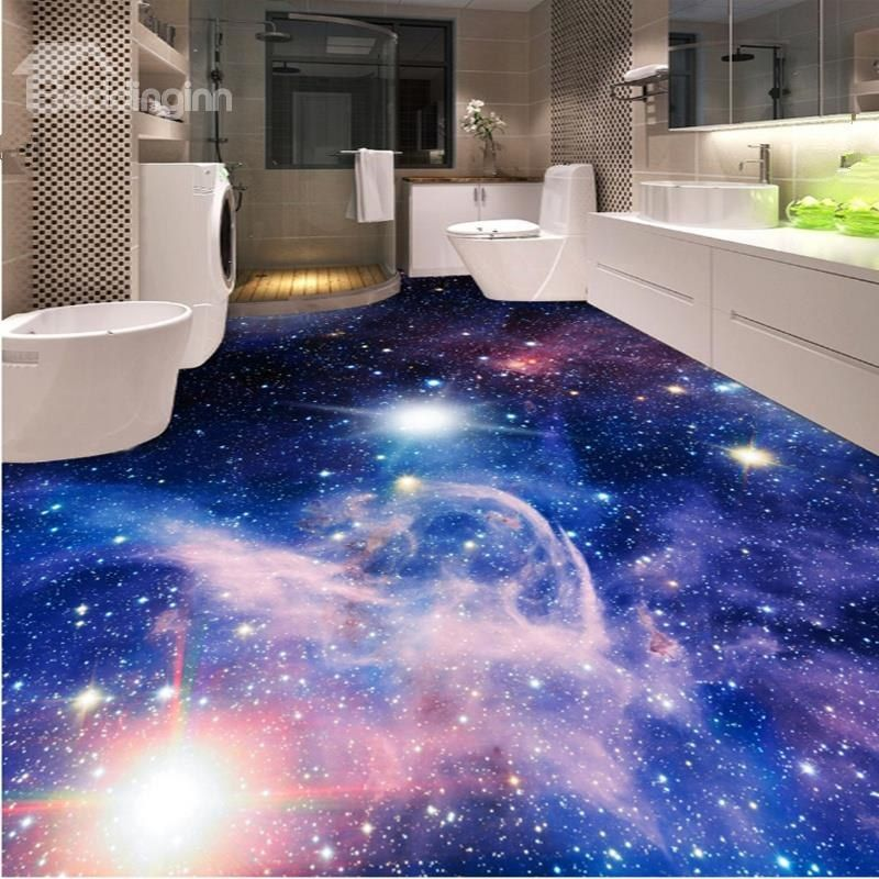 Dreamy Creative Design Galaxy Print Home Decorative Waterproof 3d