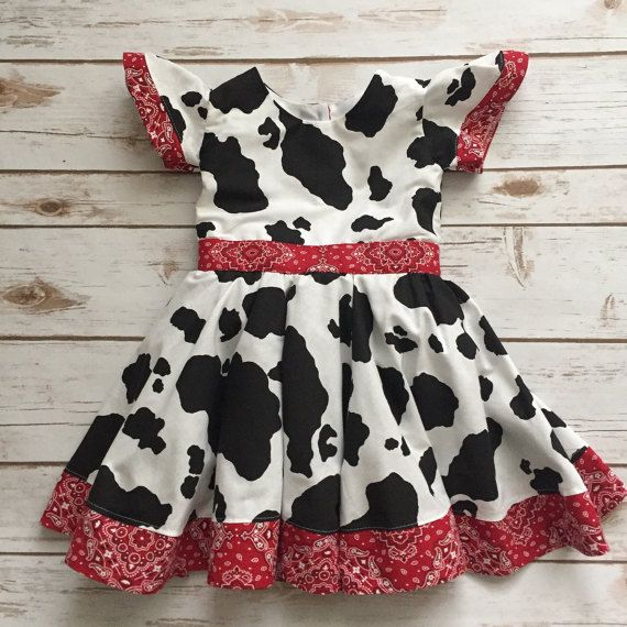 Dress for Girl Farm Party
