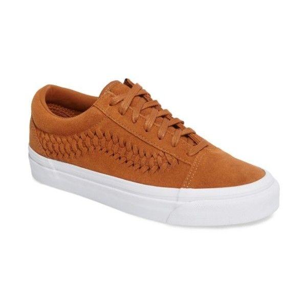 Women s Vans Old Skool Weave Dx Sneaker (305 PEN) ❤ liked on Polyvore  featuring d4b29daeb