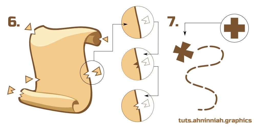 Inkscape Tutorials How To Draw A Scroll Character Design Tutorial Digital Art Tutorial Illustrator Tutorials
