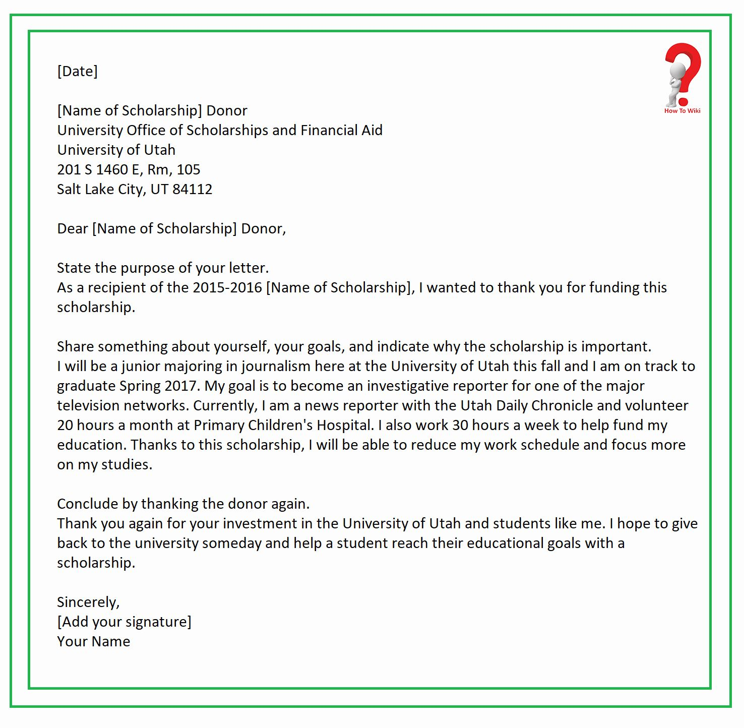 Scholarship Thank You Letter Examples Luxury How To Write Thank You Letter For Thank You Letter Examples Scholarship Thank You Letter Thank You Letter Template