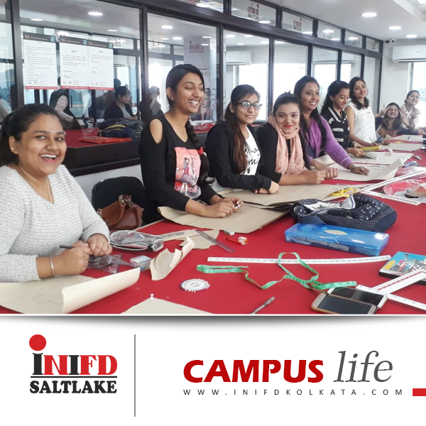Inifd Saltlake Campus Life Take An Insider S Look Of Both Fashion Interior Classes At Inifdsaltla Fashion Designing Course Interior Design Student Campus