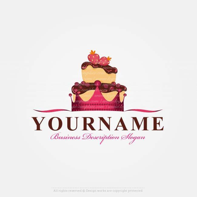 Free Logo Maker Royal Cake Logo Design Cake Logos Pinterest