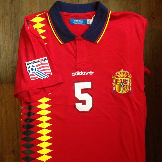 eb1067cb1b1 Spain 2018 World Cup Home Kit Colors & Design Info Leaked - Footy Headlines