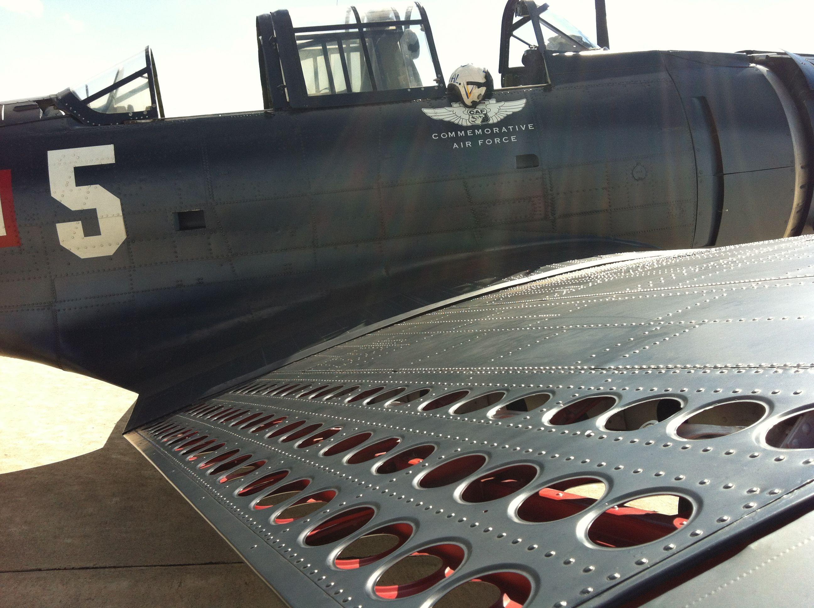 SBD Dauntless Divebomber. Belongs to the Commemorative