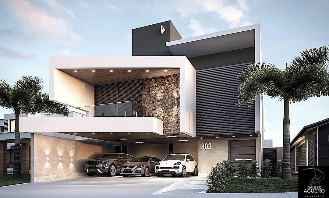 Pin de stephany torres en casas en 2019 pinterest - Casas arquitectura moderna ...