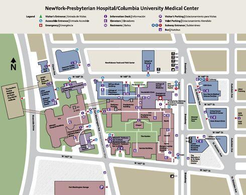 York Hospital Map