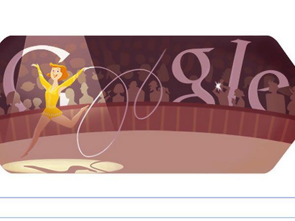 Gimnasia Rítmica Londres 2012: El doodle de Google del 11 de agosto