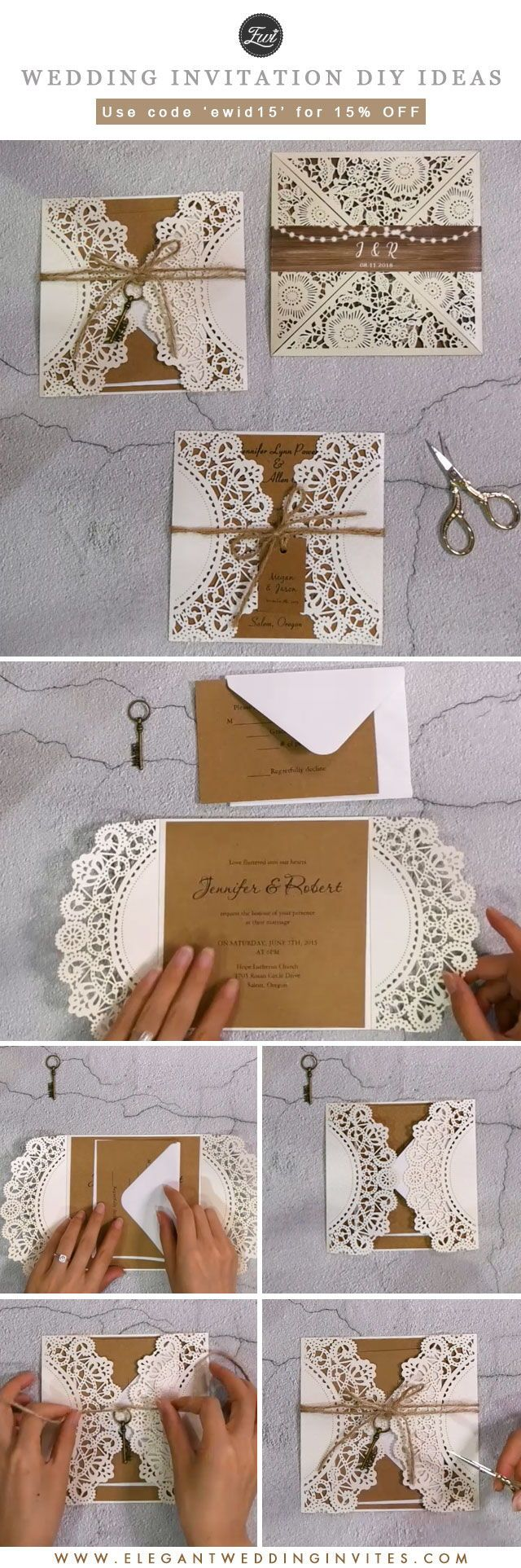Cheap and rustic wedding invitations as low as diy wedding