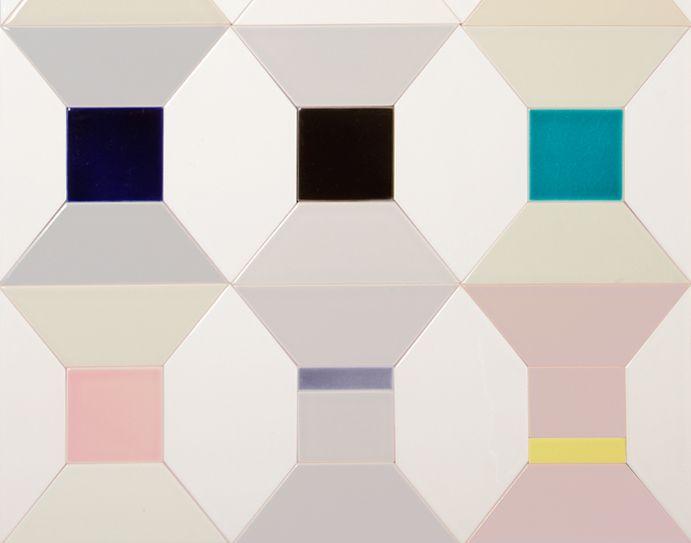 Cotton Reel tiles - Richard Rhys