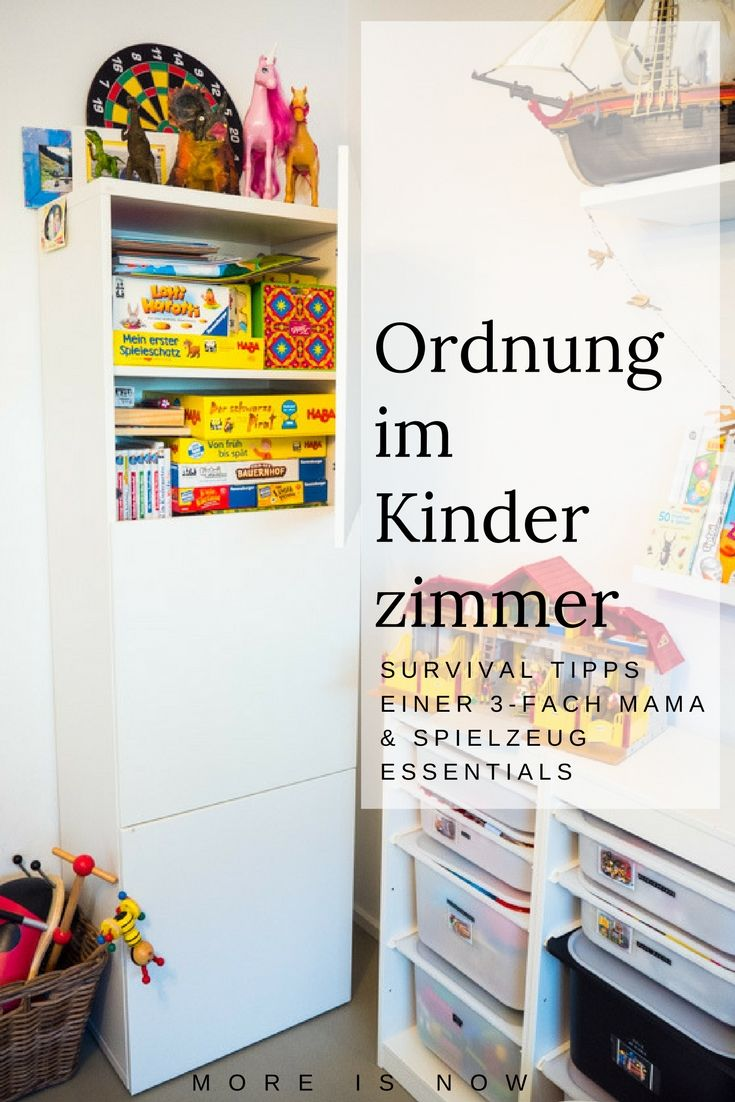 Endlich Ordnung im Kinderzimmer & Spielsachen, die Mamas Zeit ...