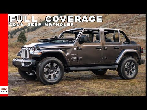 2018 Jeep Wrangler Sahara Rubicon Test Drive Interior
