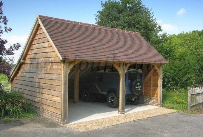 Houten carport bouwen | Jaro Houtbouw | Garage | Pinterest | Garage ...