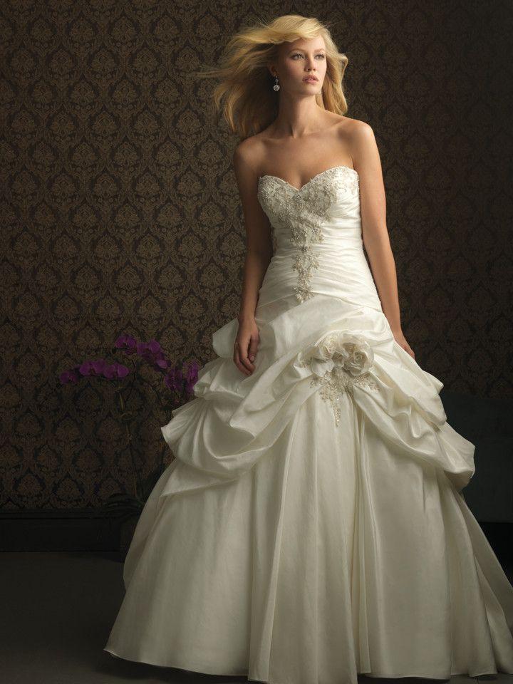 Allure Bridals 8752 Taffeta Ballgown Wedding Dress   My Wedding ...
