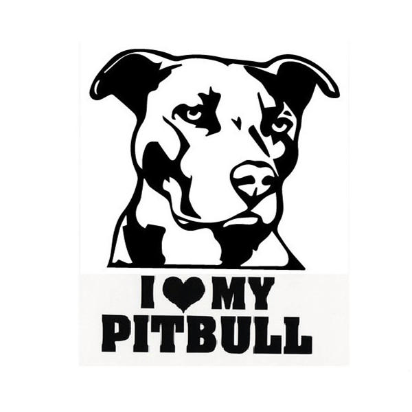 Us1 56 Waterproof Pitbull Car Stickers Auto Truck Vehicle