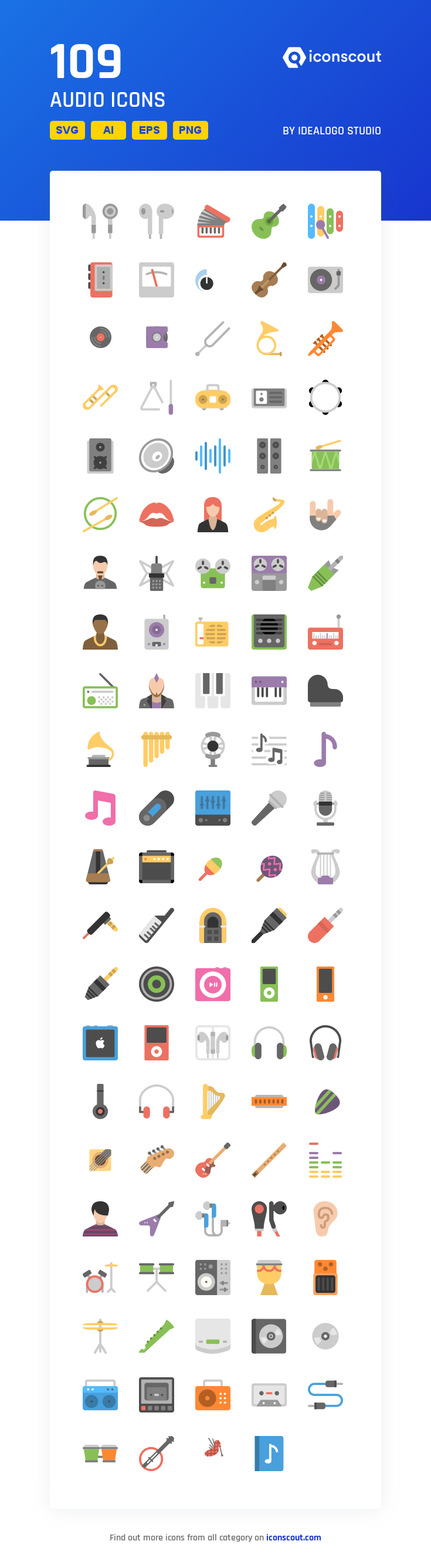 Download Audio Icon Pack Available In Svg Png Eps Ai Icon Fonts Icon Pack Audio Computer Headphones