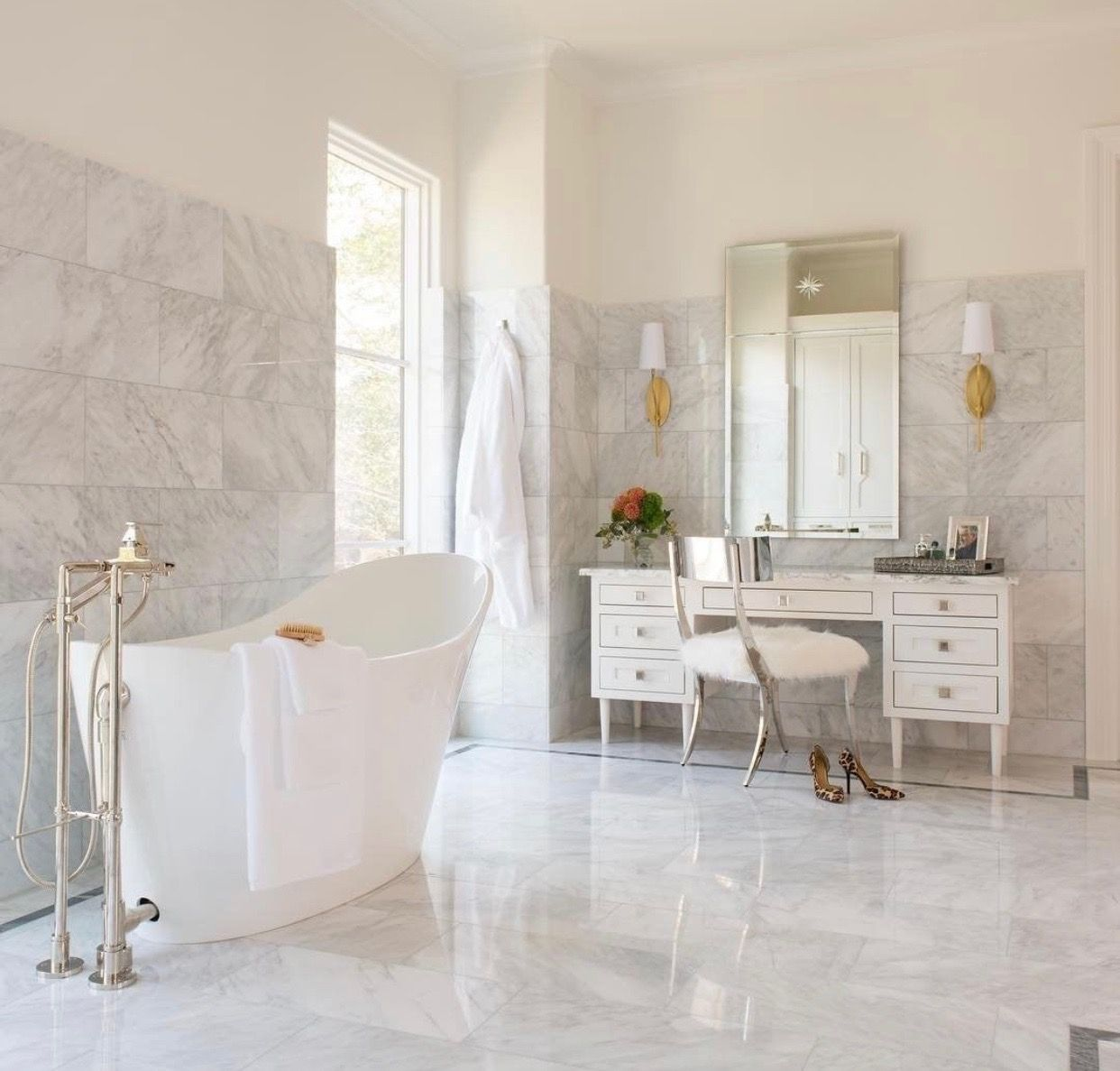 Pin by CeCe John on Future Home White vanity bathroom