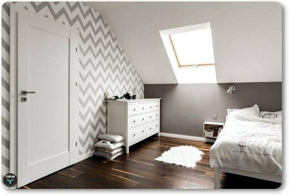 Como aprovechar una habitaci n abuhardillada aizea - Como pintar una habitacion pequena ...