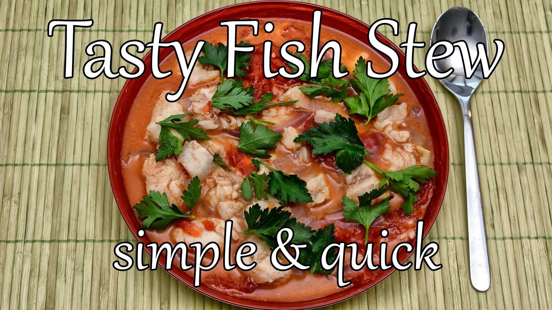 This simple & tasty fish soup recipe takes under 30 min to make and is inspired by Halászlé, a.k.a. Hungarian Fisherman's Stew. It is high in protein and pac...