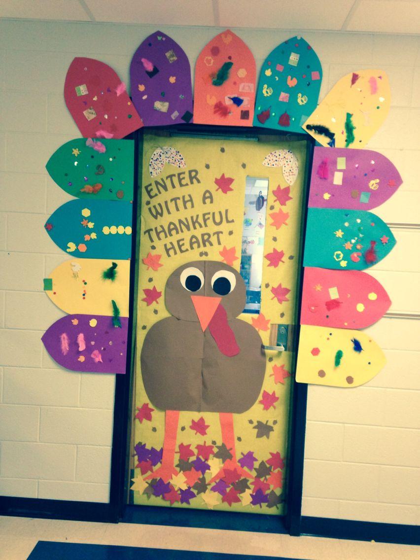 Classroom Door-Thanksgiving … | Pinteres…