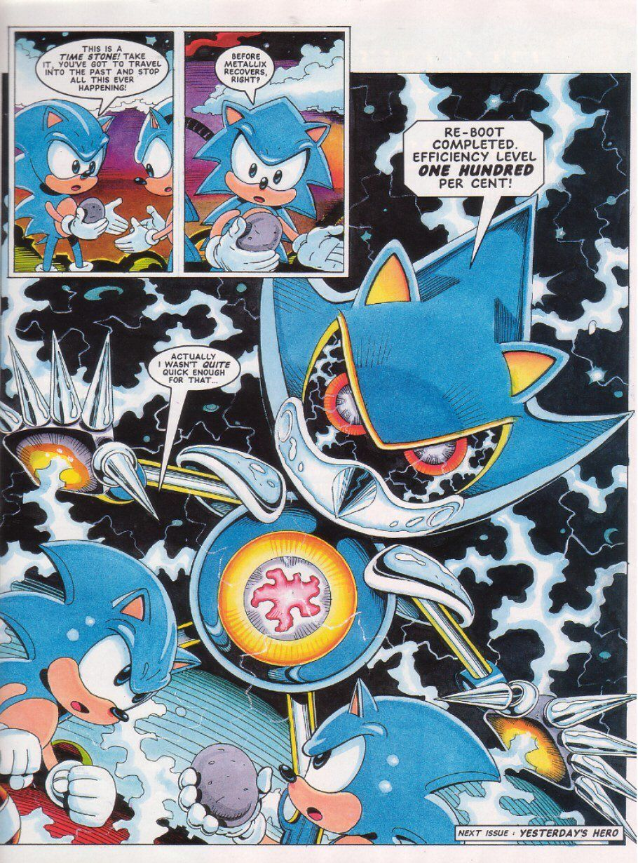Sonic The Comic issue 27 page 8 #UKPA | Sonic The Hedgehog