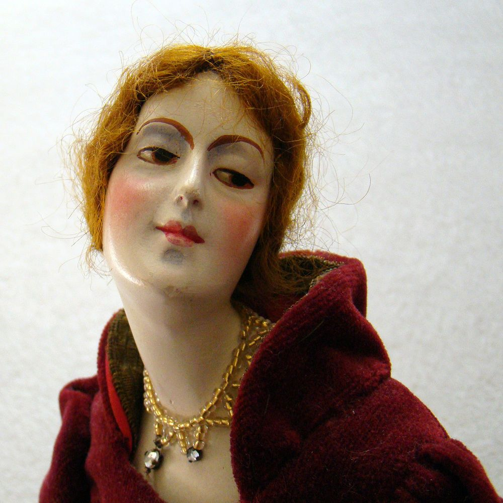 Vintage Art Deco Doll - alte Boudoir Puppe - Lilli Baitz Style ...