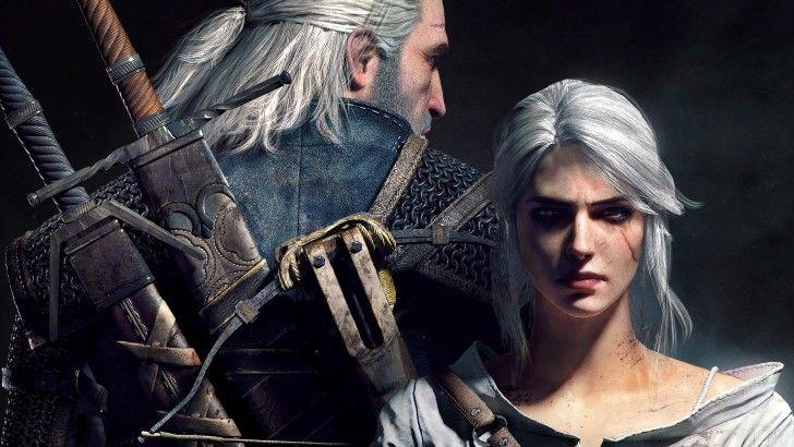 Ciri And Geralt 4k Widescreen Wallpaper 3840x2400 O Mago Caca Selvagem Papeis De Parede De Jogos