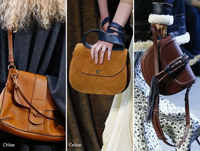 Fall Winter 2017 Handbag Trends Saddle Bags