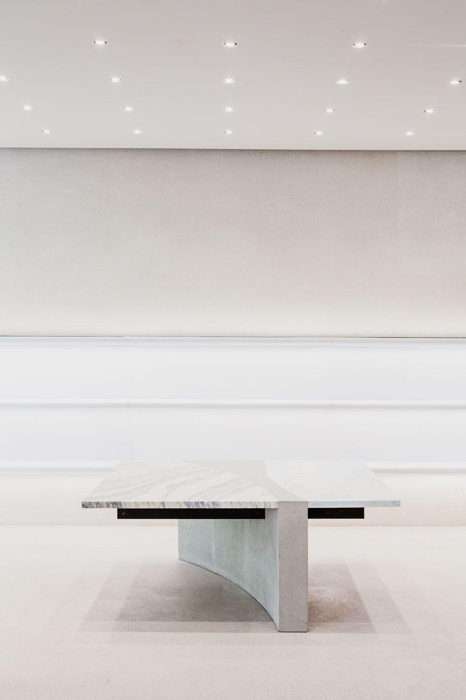 Andrea Tognon Table at Jil Sander store - Berlin   Collection design